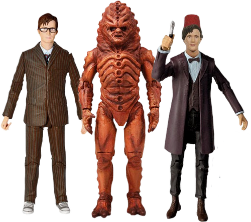 Doctor Who - Day of the Doctor Action Figure Set-CHA05449
