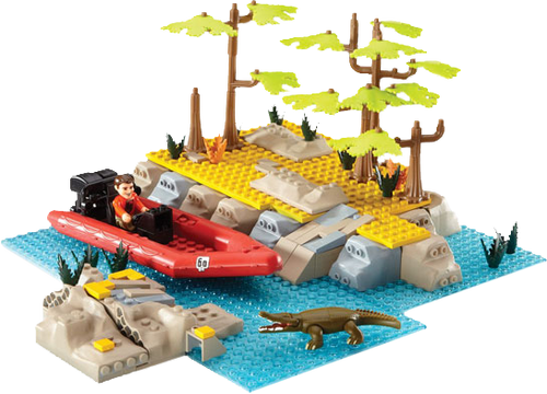 Deadly 60 - River Crossing Playset-CHA04311