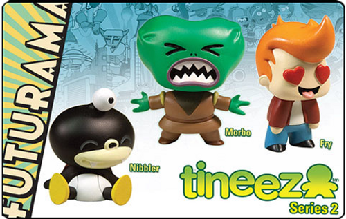 Futurama - Tineez Series 2 3 Piece Figure Set-TOY1637
