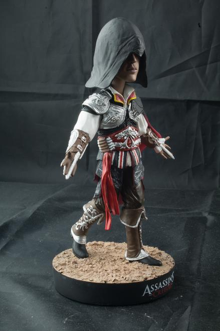 Assassin's Creed - Ezio Black Suit Bobble Head-IKO0630