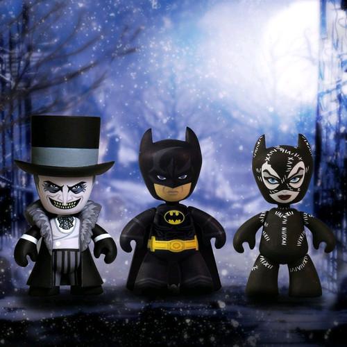 """Batman Returns - 2"""" Mez-itz 3-pack-MEZ38195"""