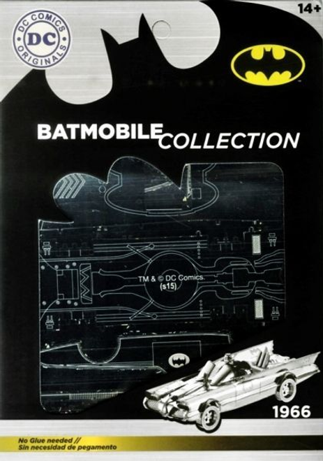 Batman - Batmobile 1966 Metal Model Kit-SDTWRN89643