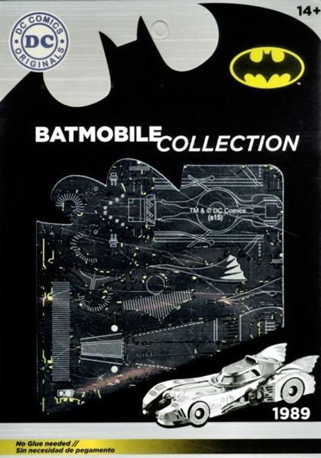 Batman - Batmobile 1989 Metal Model Kit-SDTWRN89644