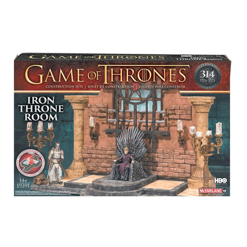 Game of Thrones - Construction Set Iron Throne Room-MCF19391