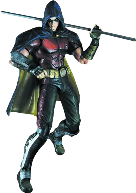 Batman: Arkham City - Robin Play Arts Action Figure-SQU81248