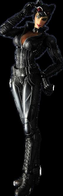 Batman: Arkham City - Catwoman Play Arts Action Figure-SQU81223