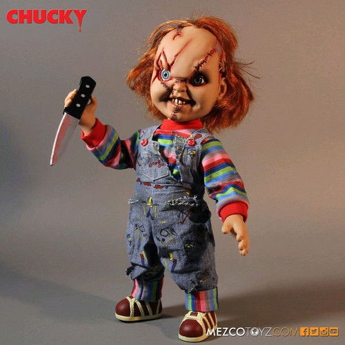"Child's Play - Chucky 15"" Talking Action Figure-MEZ78003"