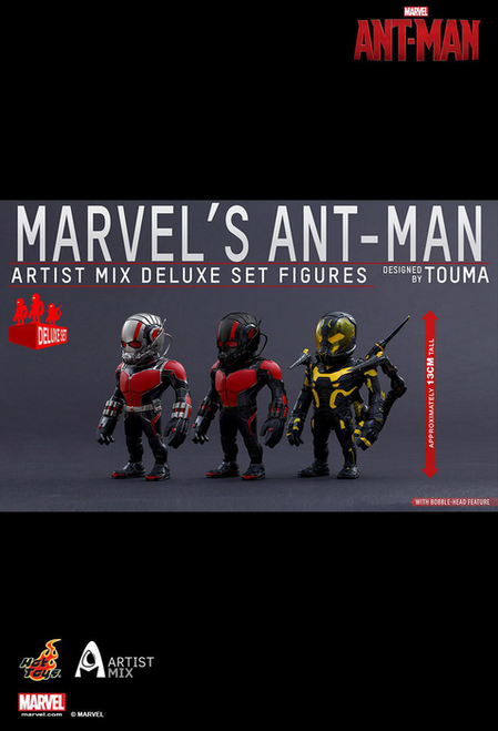 Ant-Man - Artist Mix Deluxe Set of 3-HOTAMC014-015