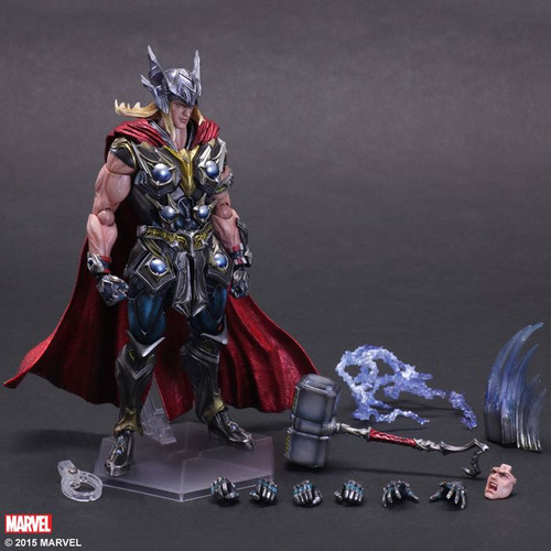 Thor - Variant Play Arts Action Figure-SQU81636