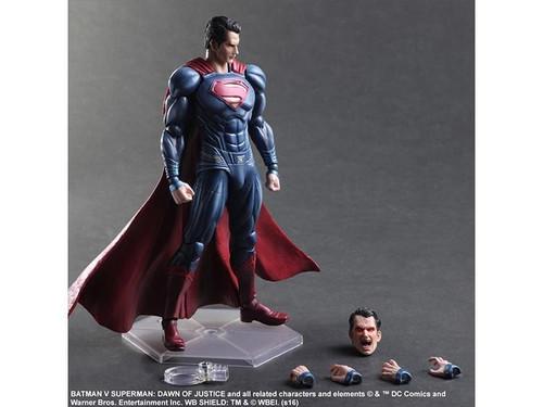 Batman v Superman: Dawn of Justice - Superman Play Arts Action Figure-SQU81679