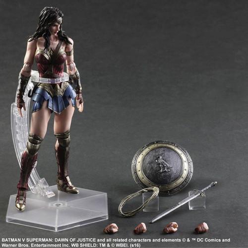 Batman v Superman: Dawn of Justice - Wonder Woman Play Arts Action Figure-SQU81680