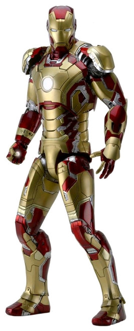 Iron Man 3 - Iron Man Mark XLII 1:4 Scale Action Figure-NEC61488