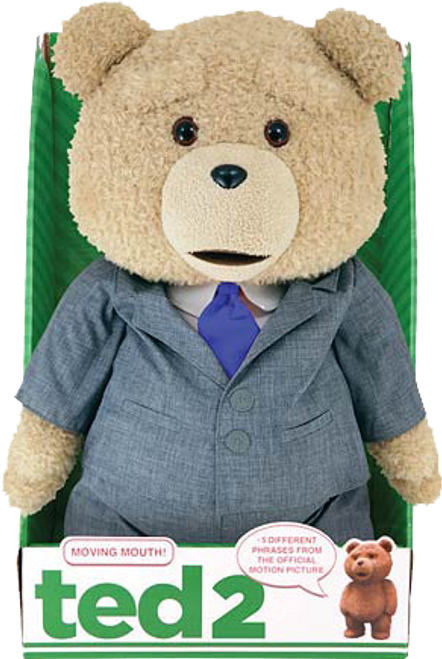"Ted 2 - 16"" Animated Plush Suit Outfit-CTN98576"