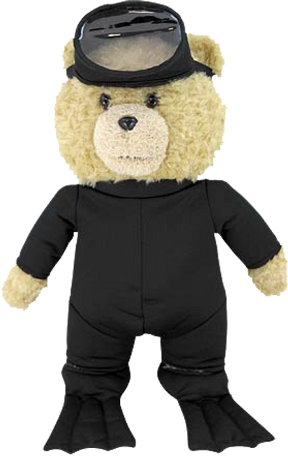 "Ted 2 - 24"" Movie Size Plush Scuba Outfit-CTN98319"