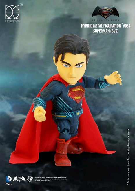 Batman v Superman: Dawn of Justice - Superman Hybrid Metal Figuration-HERHMF034