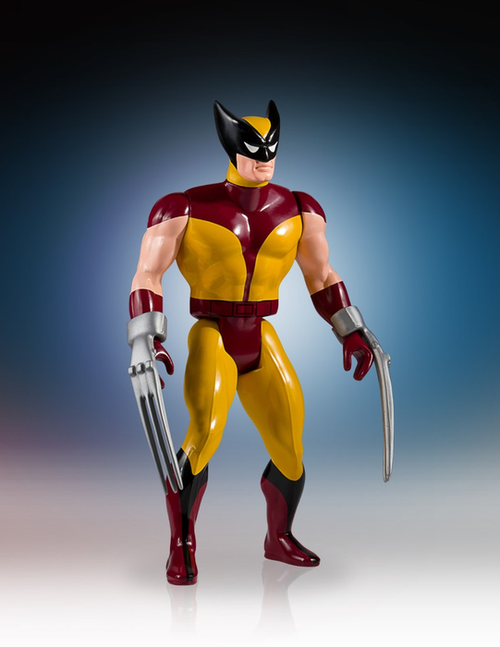 "Secret Wars - Wolverine 1:6 Scale 12"" Jumbo Kenner Action Figure-GGS80476"
