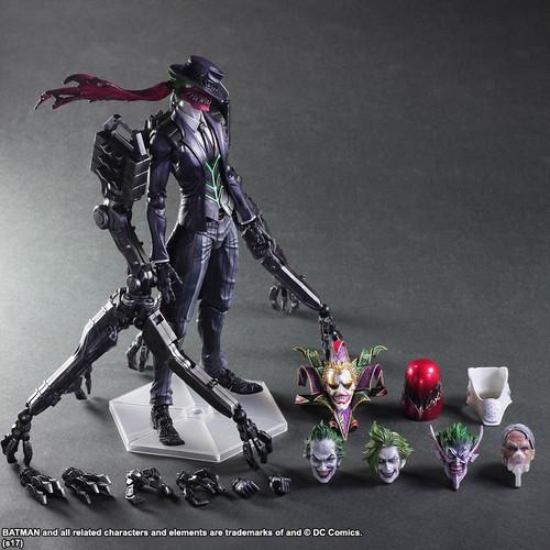 Batman - Joker Tetsuya Nomura Play Arts Action Figure-SQU81634