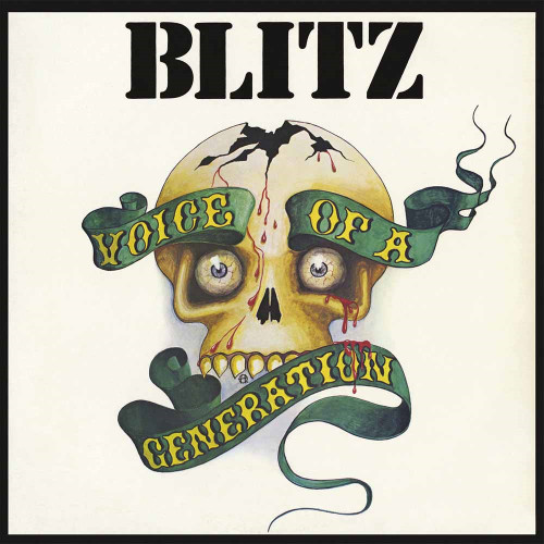 BLITZ - VOICE OF A GENERATION-Double Vinyl LP -Brand New-Still Sealed