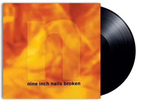 NINE INCH NAILS-BROKEN: DEFINITIVE EDITION-Vinyl LP (REMASTERED 180 GRAM 12-INCH + 7-INCH VINYL) -Brand New-Still Sealed