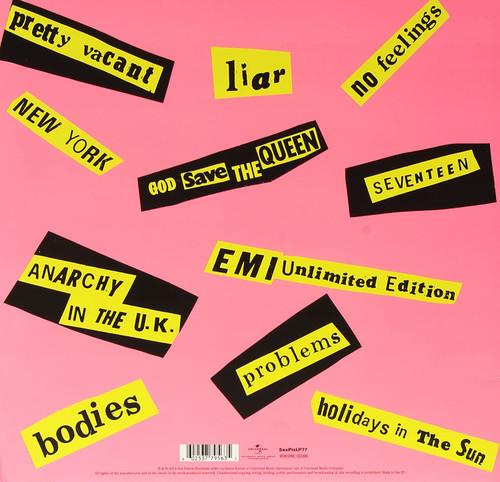 SEX PISTOLS -Never Mind the Bollocks- VINYL LP (180g)-Brand New-Still Sealed