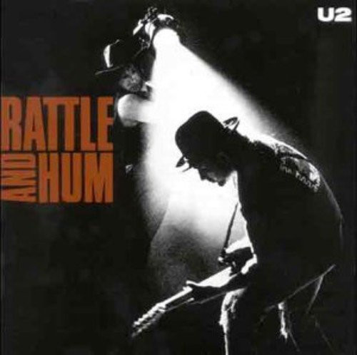 U2-RATTLE AND HUM-DOUBLE VINYL LP-Brand New-Still Sealed