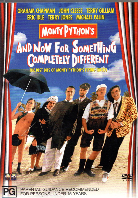 Monty Python - & Now for Something Completely Different DVD  Region 4-Brand New-Still Sealed
