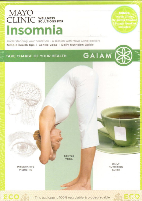 Mayo Clinic: Wellness Solutions for Insomnia-Yoga-Region 1 DVD-Brand New-Still Sealed