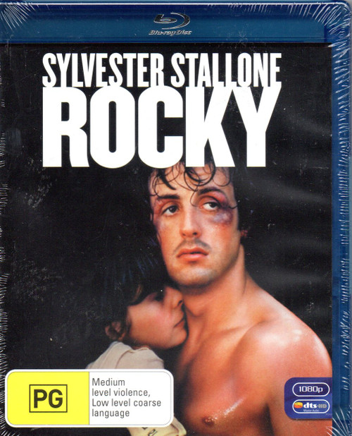 Rocky-Blu-Ray (Region B)-Brand New-Still Sealed