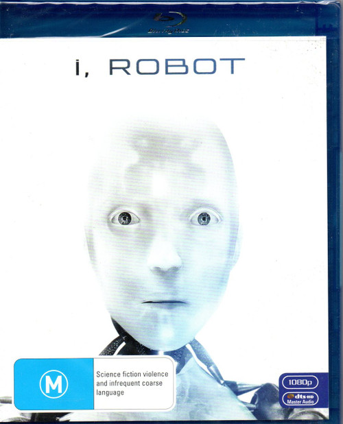I, Robot (Will Smith)-Blu-Ray (Region B)-Brand New-Still Sealed