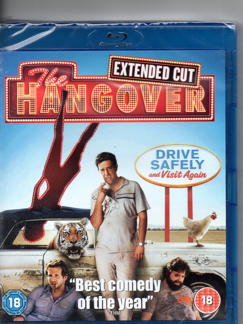 Hangover-Blu-ray-Region B-Brand New-Still Sealed