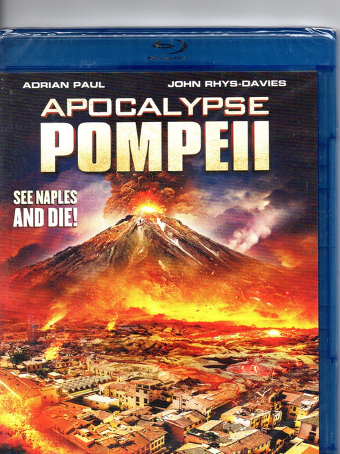 Apocalypse Pompeii (Blu-ray)- Region A -Brand New-Still Sealed