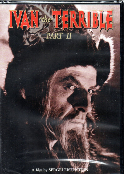 Ivan the Terrible-Part 2 (Criterion)-DVD-Region 1-Brand New-Still Sealed