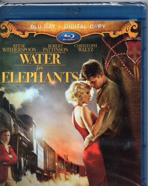 Water for Elephants (Blu-ray)-2 disc set- Region A -Brand New-Still Sealed