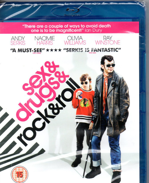 Sex & Drugs & Rock & Roll (Blu-ray)-Region B-Brand New-Still Sealed
