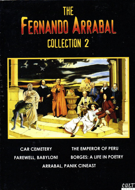 Fernando Arrabal: Collection 2 (3 Discs) (Ltd Edition)-Region Free DVD-Brand New-Still Sealed
