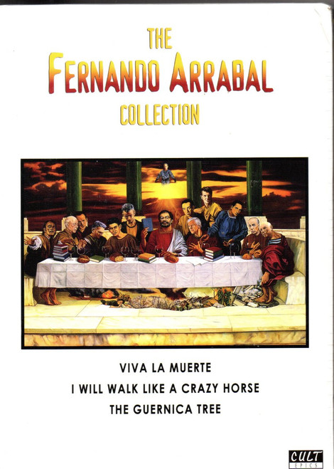 Fernando Arrabal Collection, The (3 Discs) (Ltd Edition)-Region Free DVD-Brand New-Still Sealed