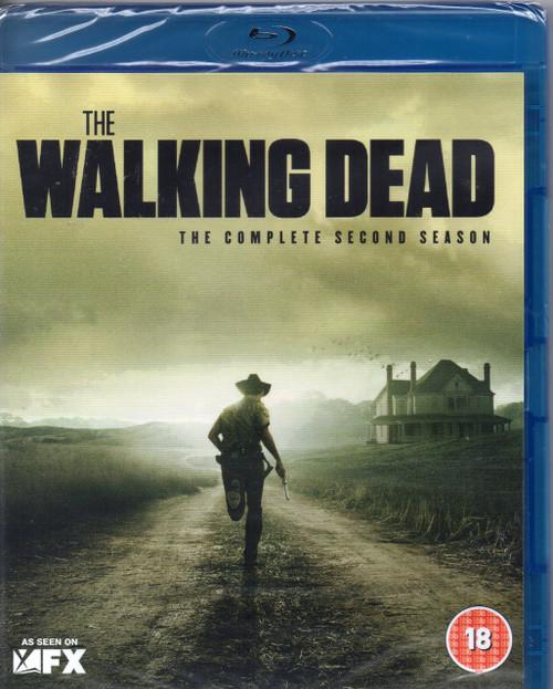 Walking Dead, The:Complete Second Season-Blu Ray -Brand New-Still Sealed