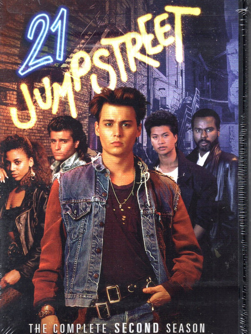 21 Jump Street: Season Two (4 Discs)-DVD - Region 1 -Brand New-Still Sealed