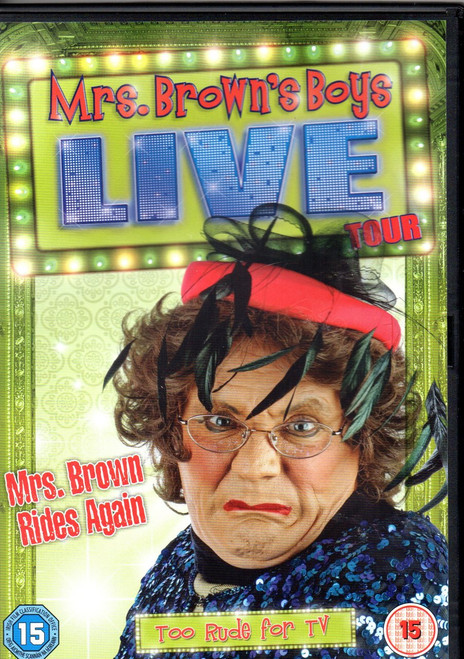 Mrs. Browns Boys: Live Tour Mrs. Brown Rides Again DVD Region 4 -Brand New