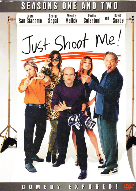 Just Shoot Me-Seasons One and Two (4 Discs)-DVD-Region 1-Brand New-Still Sealed