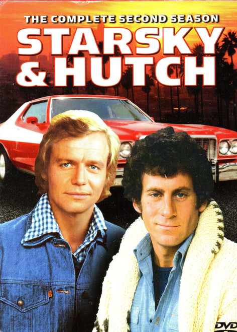 Starsky & Hutch-The Complete Second Season (5 Discs)-DVD-Region 1 -Brand New-Still Sealed