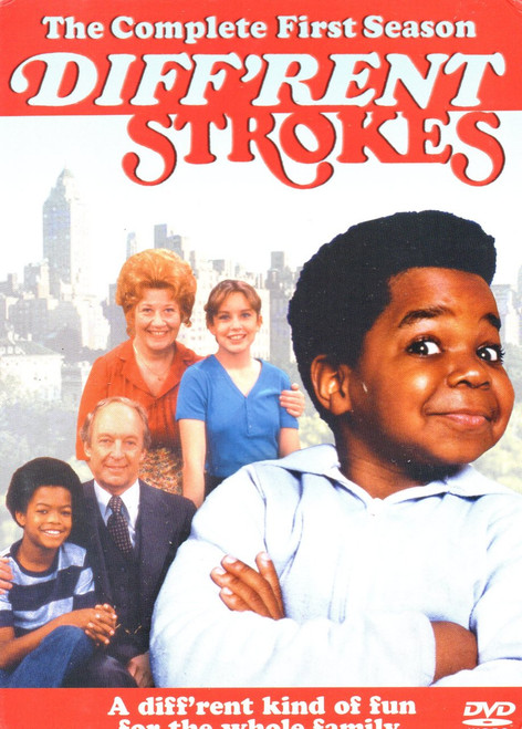 Diffrent Strokes-The Complete First Season (3 Discs)-DVD -Region 1-Brand New-Still Sealed