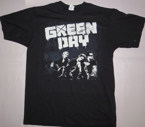 Green Day Oakland Event Tee-Large-T-Shirt-Brand New