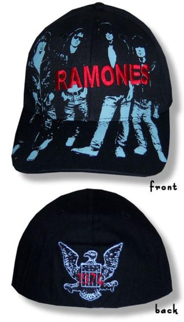 The Ramones Album Art Baseball Cap/Hat--Brand New