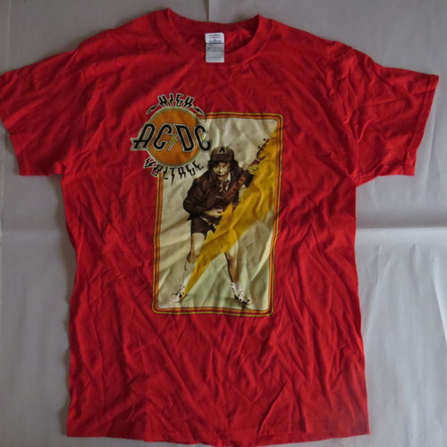 AC/DC High Voltage Angus- Med-Licensed T-Shirt-Brand New