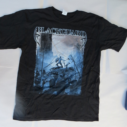 Blackguard Until the End - XL-Licensed T-Shirt-Brand New