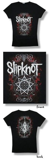 Slipknot Circle Degrees 30/1 Junior Baby Doll-XL-T Shirt-Brand New