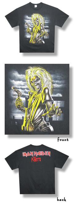 Iron Maiden Killers Jumbo Print-Medium-T Shirt-Brand New