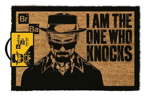 Breaking Bad - I Am The One Who Knocks-Doormat 60cm x 40cm-GP85003