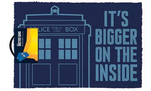 Doctor Who - Tardis-Bigger On The Inside-Doormat 60cm x 40cm-GP85065